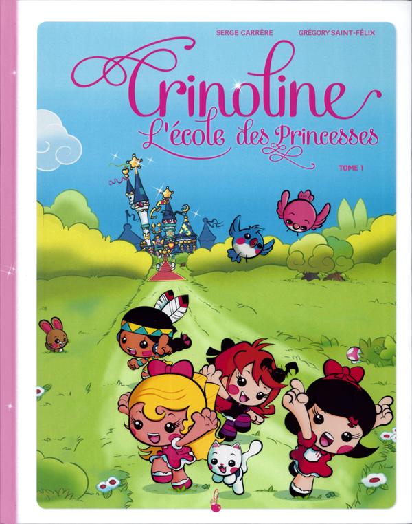 """Résultat de recherche d'images pour """"Crinoline, l'école des Princesses T1"""" de Serge Carrère et Grégory Saint-Félix ( Le gâteau sur la cerise)"""""""