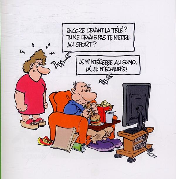 je hais le sport olivier ranson humour bdnet com. Black Bedroom Furniture Sets. Home Design Ideas