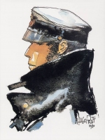 Rayon : Affiches, Série : Corto Maltese, Dedicated to Corto (24 x 18 cm)