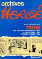 Rayon : Albums (Aventure-Action), Série : Archives Hergé T3, Tome 3: Tintin