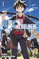 Rayon : Manga (Shonen), Série : UQ Holder ! T1, UQ Holder !