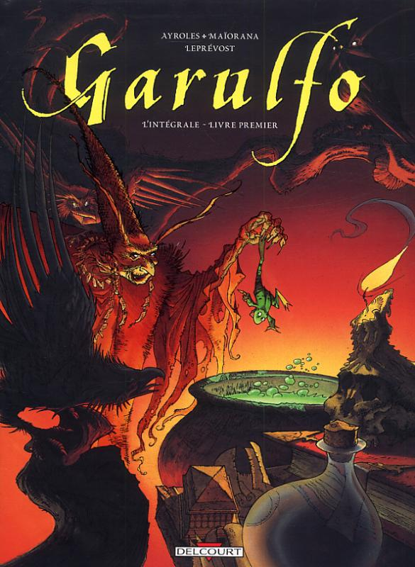 Integrale Garulfo Livre Premier Nouvelle Edition Bruno