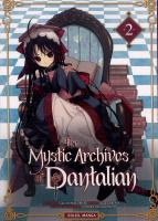 Rayon : Manga (Gothic), S�rie : The Mystic Archives of Dantalian T2, The Mystic Archives of Dantalian