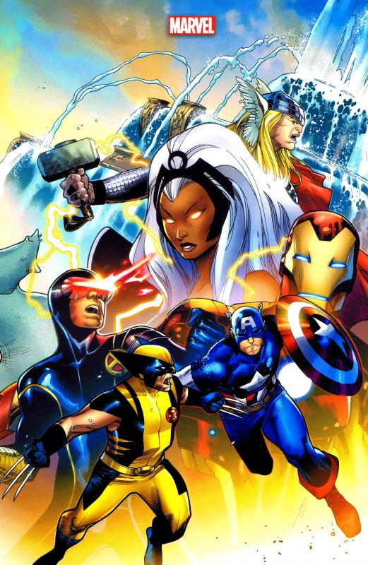 Avengers Vs X Men Couverture Variante John Romita Jr