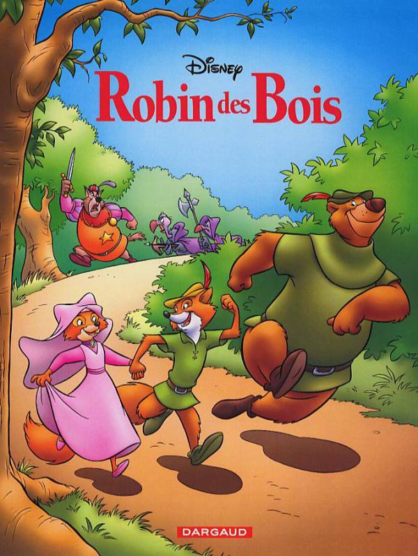 Robin des Bois (reedition)  (Studios Disney)  Aventure  ~ Image Robin Des Bois Disney