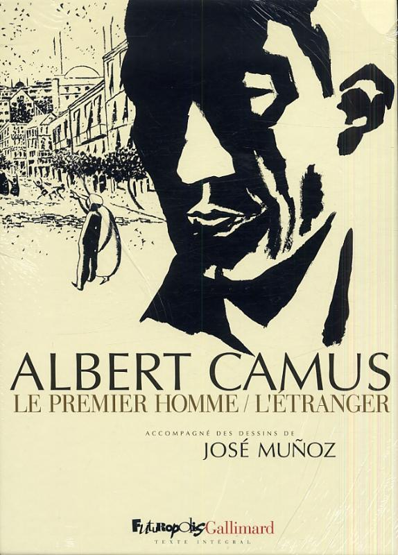 c95dc125f72 Coffret Albert Camus Le Premier Homme-L Etranger - (José Muñoz ...
