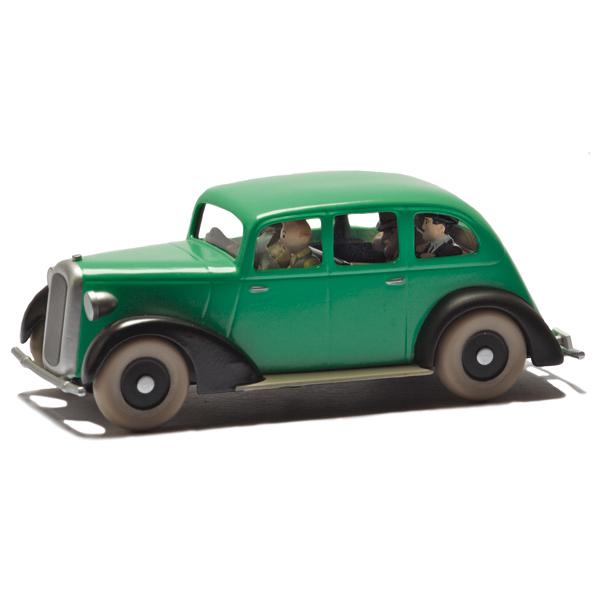 collection voiture tintin
