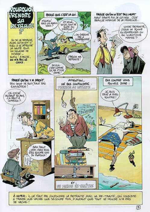 Le Guide De La Retraite Tybo Jacky Goupil Humour