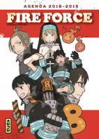 Rayon : Papeterie BD, Série : Fire Force, Fire Force : Agenda 2018-2019