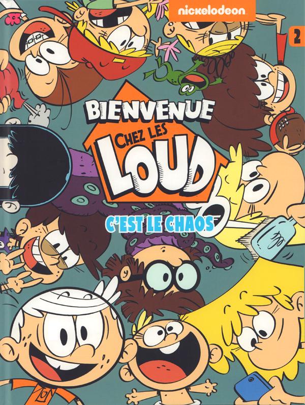 C Est Le Chaos Nickelodeon Humour Bdnet Com
