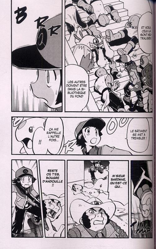 Pokemon noir et blanc satoshi yamamoto hidenori - Pokemon noir et blanc personnage ...