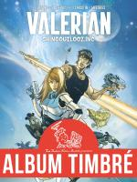 Rayon : Albums (Science-fiction), Série : Valerian Vu par... T2, Shingouzlooz.Inc (Lupano & Lauffray) (Album Timbré)