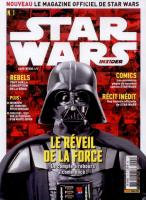 Rayon : Magazines BD (Science-fiction), Série : Star Wars : Insider T1, Star Wars : Insider : Avril / Juin 2015 (Couverture 1/2)