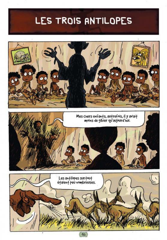 Contes Africains En Bandes Dessin U00e9es   Gaet U0026 39 S