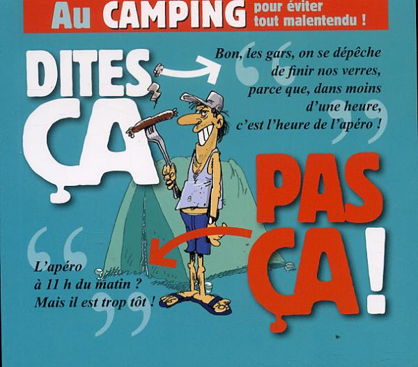image drole camping