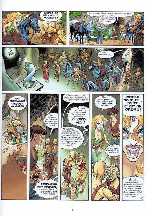 L Autre Cote Jean Pierre Danard Jean Charles Gaudin Heroic Fantasy Magie Bdnet Com