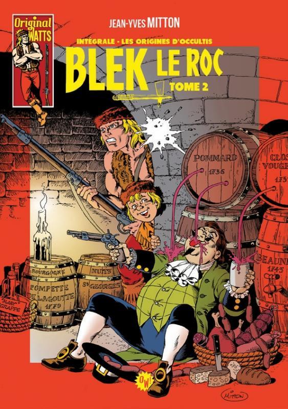bandes dessinées blek le roc