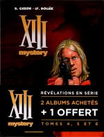 Rayon : Albums (Policier-Thriller), Série : Treize (XIII) Mystery T2, Treize (XIII) Mystery (Pack Promotionnel Tomes 4 à 6)