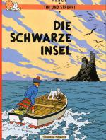 Rayon : Albums (Aventure-Action), Série : Tintin (Allemand), Die Schwarze Insel