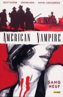 Rayon : Comics (Fantastique), Série : American Vampire T1, Sang Neuf