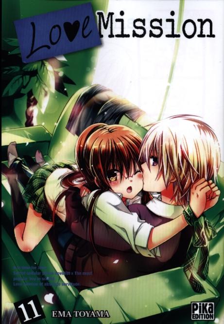 livre manga love mission