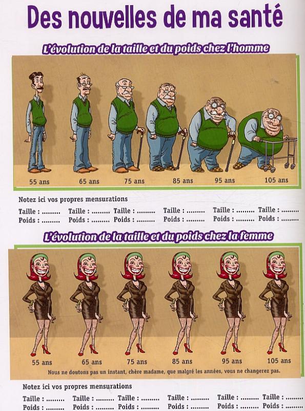Serie le livre d 39 or de la retraite bdnet com for Humour retraite