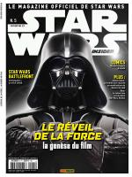 Rayon : Magazines BD (Science-fiction), Série : Star Wars : Insider T5, Star Wars : Insider : Février / Mars 2016 (Couverture 2/2)