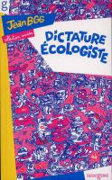 Rayon : Albums (Labels indépendants), Série : Dictature Ecologiste, Dictature Ecologiste