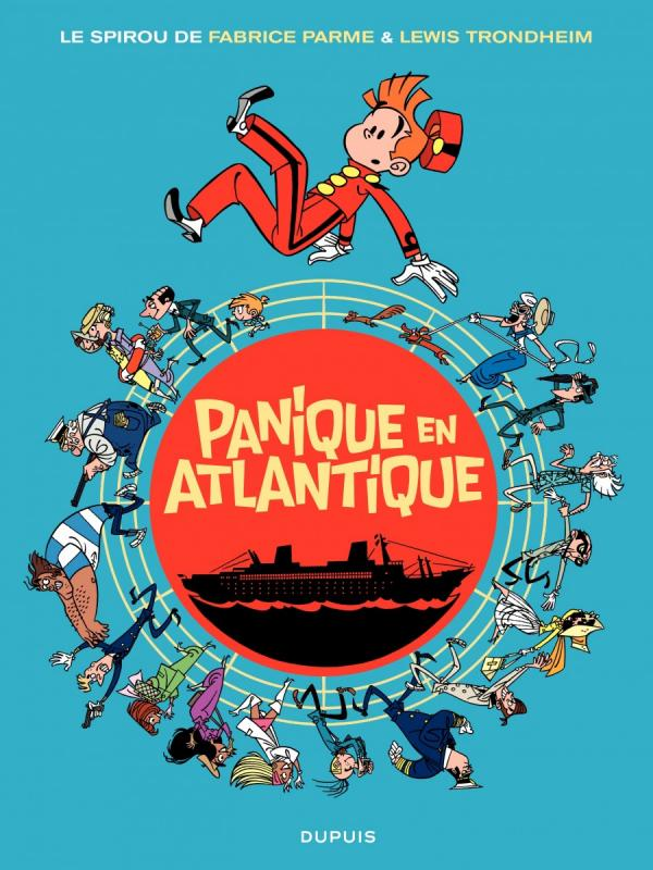 Spirou et Fantasio-Panique en Atlantique One Shot
