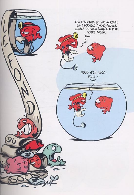 Serie le fond du bocal bdnet com for Prix bocal poisson
