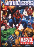 Rayon : Papeterie BD, Série : Marvel, Agenda Scolaire 2007-2008 Marvel Heroes