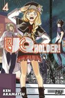 Rayon : Manga (Shonen), Série : UQ Holder ! T4, UQ Holder !