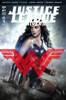 Rayon : Comics (Super Héros), Série : Justice League Univers T1, Justice League Univers (Couverture Variante)