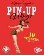 Rayon : Papeterie BD, Série : Pin-Up Wings T1, Pin-Up Wings (Stickers)