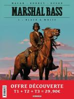 Rayon : Albums (Western), Série : Marshal Bass, Marshal Bass (Pack Promotionnel Tomes 1 à 3)