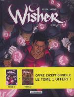 Rayon : Albums (Heroic Fantasy-Magie), Série : Wisher, Pack Tomes 1-2