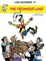 Rayon : Albums (Western), Série : Lucky Luke (Anglais) T66, The Promised Land - La Terre Promise