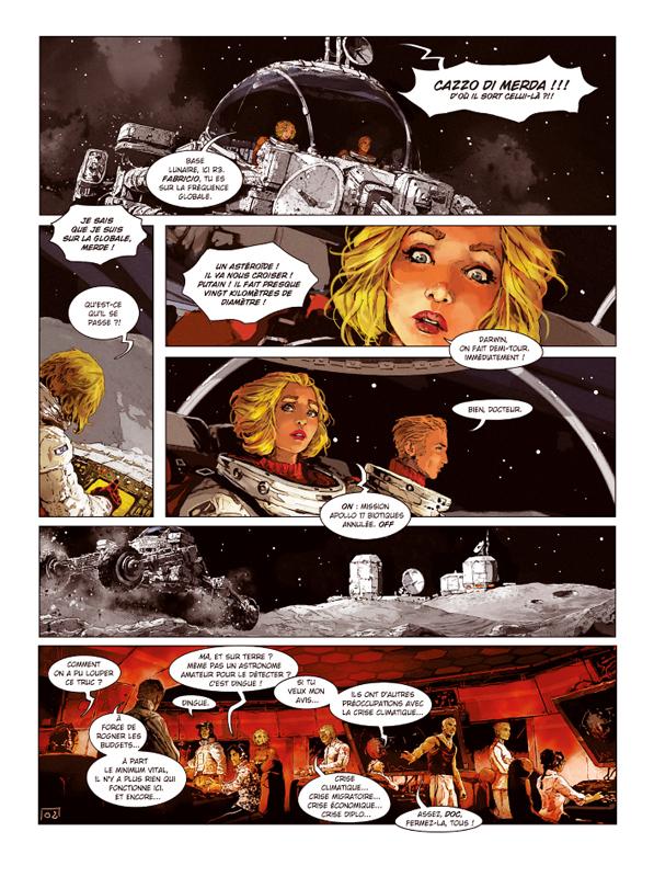 Androïdes (tome 10) - (Alain Brion) - Science-fiction [BDNET.COM]
