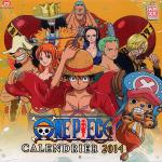 Rayon : Papeterie BD, Série : One Piece, Calendrier One Piece 2014