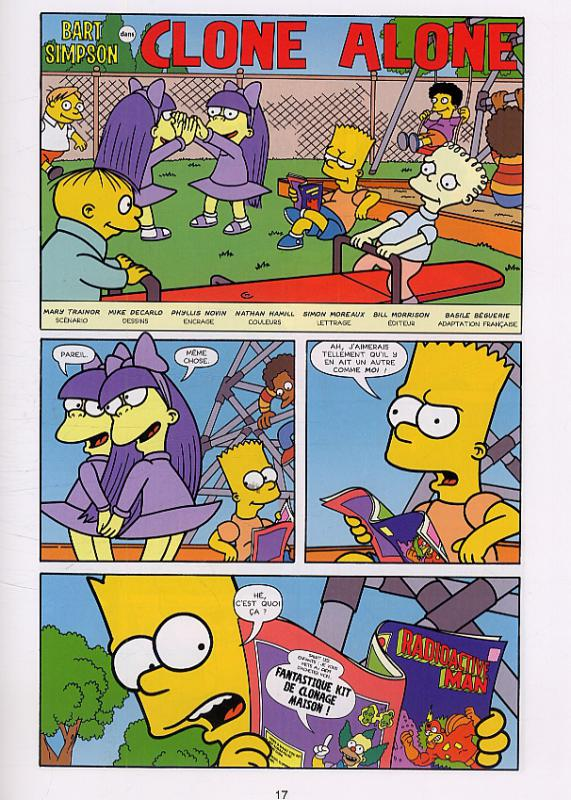 Serie bart simpson bdnet com - Homer simpson tout nu ...
