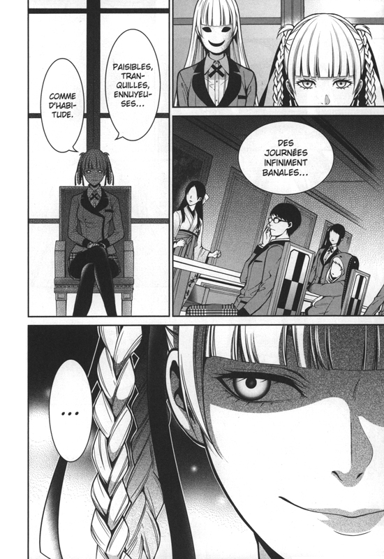 Gambling School Manga