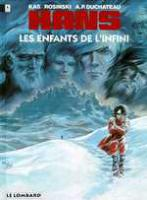 Rayon : Albums (Science-fiction), Série : Hans T7, les Enfants de l'Infini
