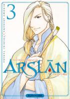 Rayon : Manga (Shonen), Série : The Heroic Legend of Arslân T3, The Heroic Legend of Arslân