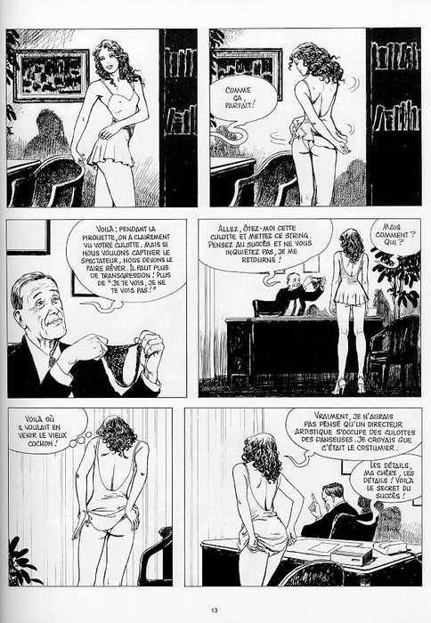 bande dessinee manara